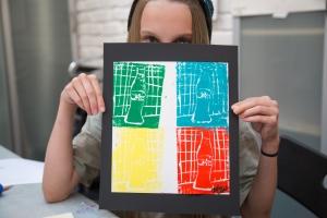 Wed Elementary Art - Pop Art