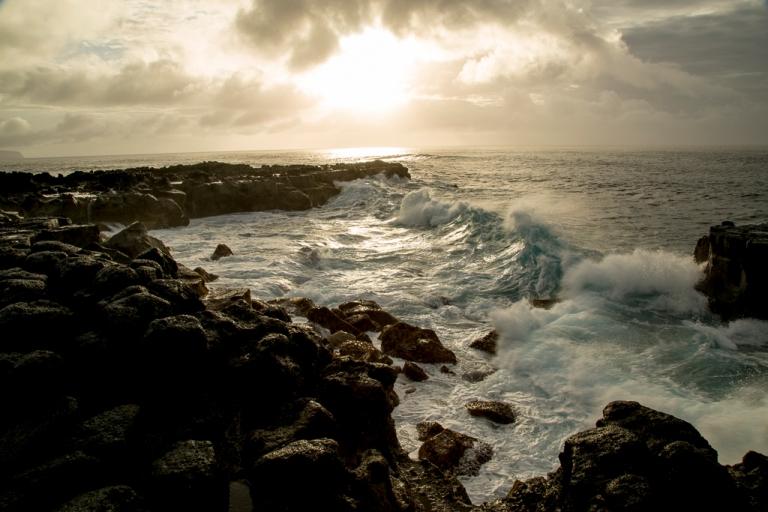 Sunrise on Easter Island