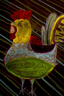 Picasso Roosters